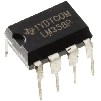 LM358P Low Power, Dual Op-Amp (Thru-Hole)