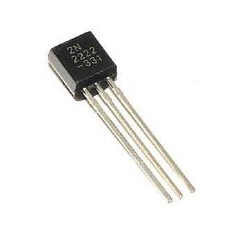 2N2222A NPN (Plastik Kýlýf) Transistör (10adet)