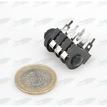6.3mm 6 Pin Stereo Jack Soketi