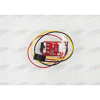 3 Boyutlu Yazıcı Limit Switch - End Stop - 3Pin Kablo Dahil