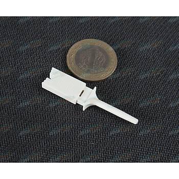 Lojik Analizör için Kancalý Test Prop Konnektörü - Beyaz