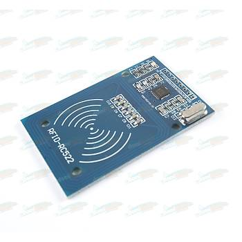 RC522 RFID NFC Kiti - RC522 RFID NFC Modülü, Kart ve Anahtarlık Kiti (13,56 Mhz)