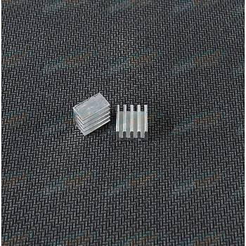 Aluminyum Soðutucu - CNC/3D Motor Sürücülere Uygun