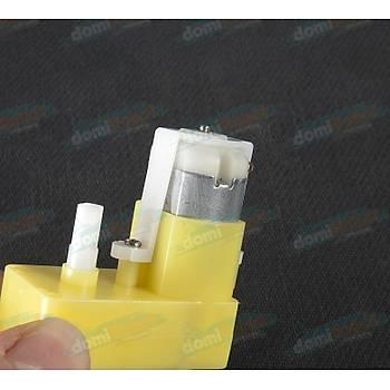 TT Diþli Motor - L Tip Çift Þaft DC Motor DIY 3-6V
