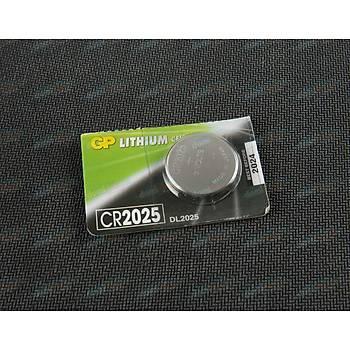 CR2025 Para Pil - GP Lityum