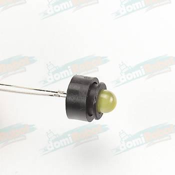 5mm Plastik LED Soketi (10Adet)