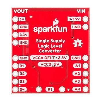 SparkFun Lojik Seviye Dönüþtürücü - 4Kanal Çift Yönlü - Tek Güç Kaynaklý