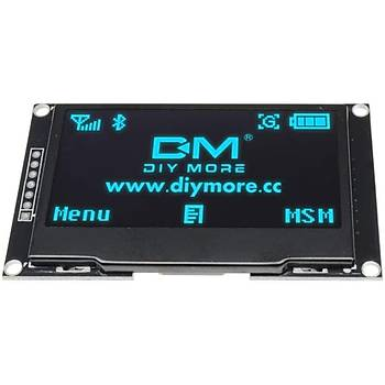 2.42 Ýnç 128x64 I2C/SPI OLED Grafik LCD Ekran (Mavi)