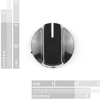 Potansiyometre Düðmesi - 15x19mm