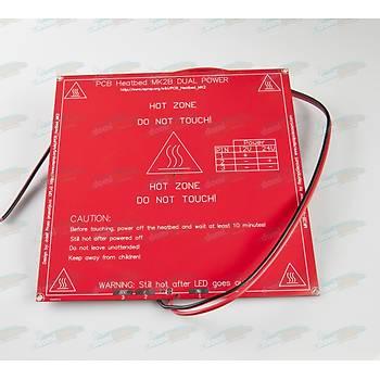 MK2B PCB Isýtýcý Tabla