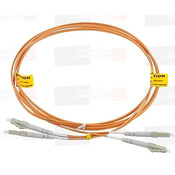 LC-LC MM 62,5/125 Duplex F/O Patchcord L:3m