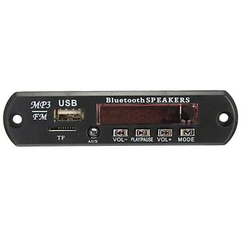 Bluetooth MP3 WMA Decoding Board (SD Card,USB 2.0, Fm Radyo,Uzaktan Kumanda )