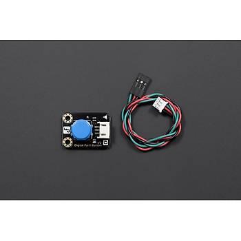 DFRobot Gravity:Digital Push Buton (Mavi)