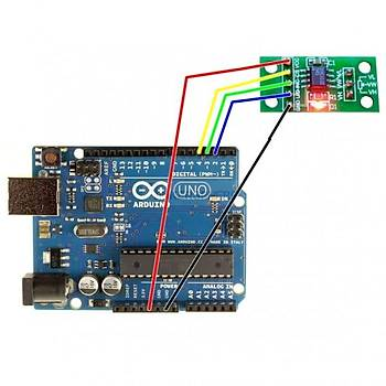 X9C103S 10 kOhm Dijital Potansiyometre Modülü