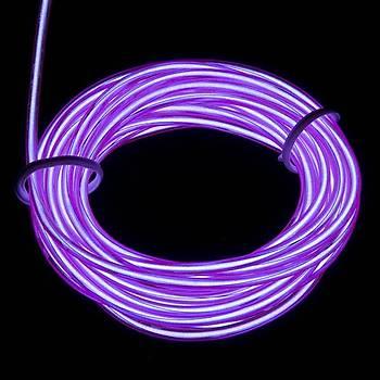 EL Wire - Mor (3m)