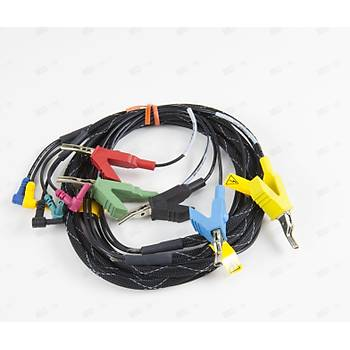 HST-3000 ve OneExpertTM for Lineman's cable assembly - T/R/G to clip lead