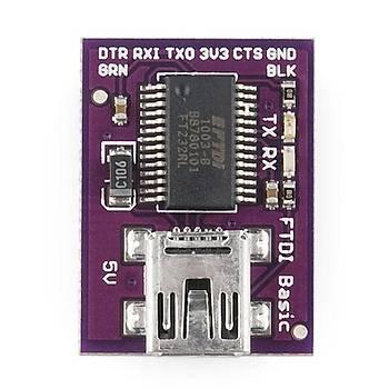 LilyPad FTDI Basic Breakout - 5V - Orjinal Ürün