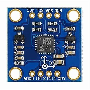 GY-51 LSM303DLH 3-Axis Ývme ölçer ve 3-Axis Magnometre (Pusula) Sensör Modulü