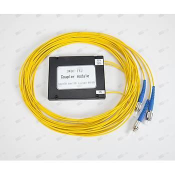 1X2 FC/UPC - FC/UPC SM ABS Tipi FBT FO PLC Splitter