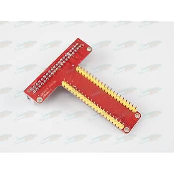 Raspberry Pi 3/2/B+/A+ GPIO Breakout Kartý- T Type