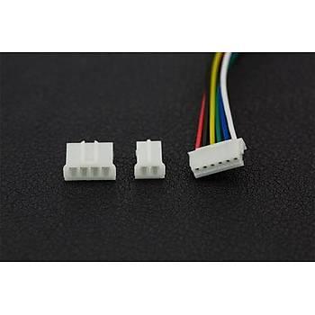 DFRobot Micro Metal Geared motor w/Encoder – 6V 530RPM 30:1