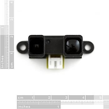 GP2Y0A41SK0F Kýzýlötesi Uzaklýk Sensörü 4-30cm