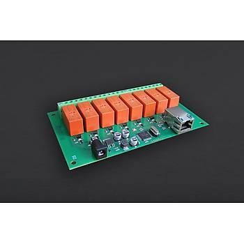 DFRobot Ethernet Kontrollü 8 Kanal 16A Röle