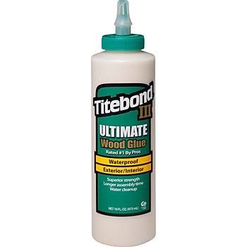 Titebond III Ultimate Ahþap Tutkalý -16oz [473ml] / Titebond III Ultimate Wood Glue