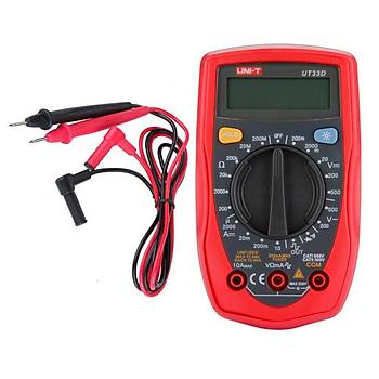 UNI-T UT33D Dijital Multimetre