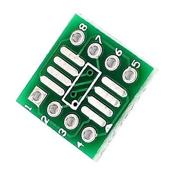 8 Pin SO/MSOP/TSAOP/SOIC/SOP8'yi DIP8'e Dönüþtürücü Kart