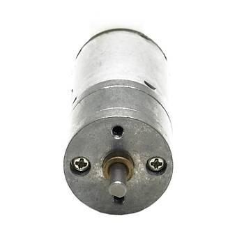 12V 900 RPM Redüktörlü Motor