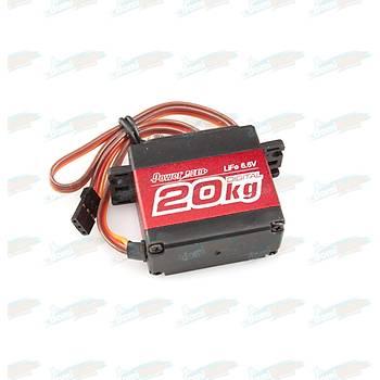 PowerHD Ultra Yüksek Güçlü Dijital Servo Motor - LF-20MG