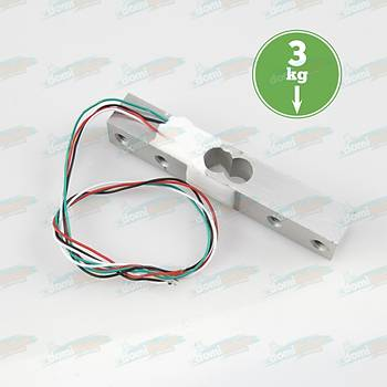 YZC-131 3Kg Aðýrlýk Sensörü (Elektronik Tartý için) + Kablolar