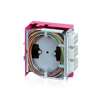 Endüstriyel Tip Splice Box - 24port DIN Rail