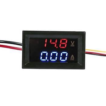 D-85 3050 199.9V 10A Voltmetre ve Ampermetre Modülü