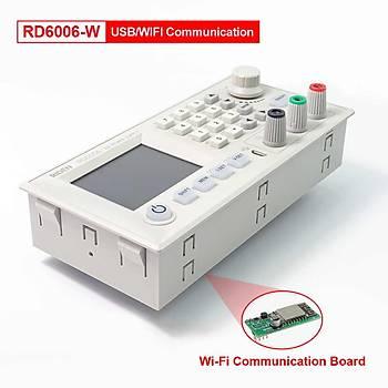 RD6006 -W DC Güç Kaynaðý 60V 6A Wi-Fi Baðlantý