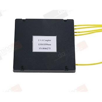 1X4 SM 2mm ABS Tipi FBT PLC Splitter (Konnektörsüz)