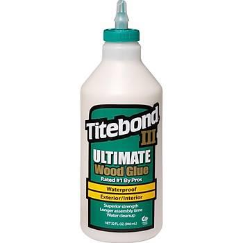 Titebond III Ultimate Ahþap Tutkalý -32oz [946ml] / Titebond III Ultimate Wood Glue