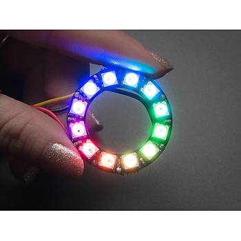 NeoPixel WS2812 5050 12'li Halka RGB LED