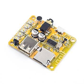 Bluetooth Ses Alýcýlý MP3 Çözücü Kart + Kýzýlötesi Kumanda