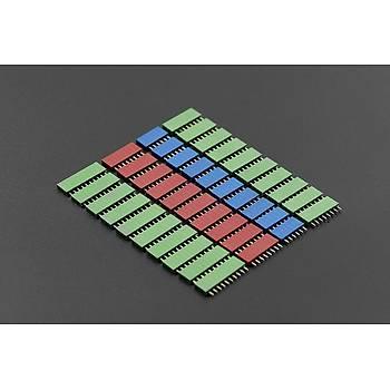 DFRobot RGB Renkli RGB Header -Arduino Header Seti (1 Set)