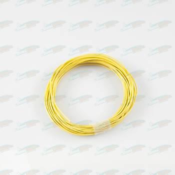 Çok Telli Renkli Montaj Kablosu  0.22mm Sarý L:10m