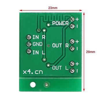 3W+3W Stereo Ses amplifikatörü + USB Lityum Pil Þarj Modülü