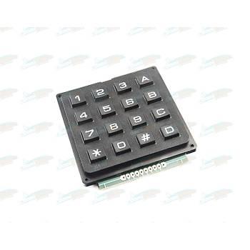 4x4 Telefon Stili  Matrix Tuþ Takýmý