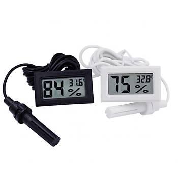 FY12 Mini LED Dijital Termostat (Siyah)