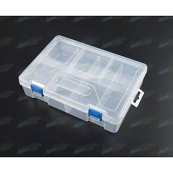 23.4x16,6x6.2cm Çift Katlý Plastik Kutu - ÝTHAL