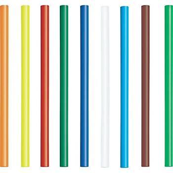 Mum Silikon Renkli Çubuk 11mm- Yeþil