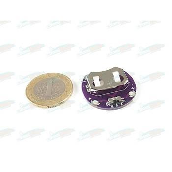 Lilypad CR2032 Batarya Takma Modülü