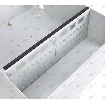 Duvar tipi Terminasyon Kutusu 96port - Metal - Sabit Yuvalý