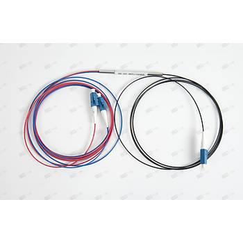 1X2 LC/UPC - LC/UPC PLC Çelik Tüplü Splitter Output %10 - %90